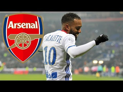 Alexandre Lacazette ● Welcome to Arsenal ● 2017