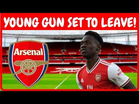 Arsenal Transfer News   Young Gun Folarin Balogun Set to Leave on a Free?
