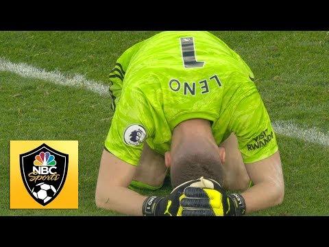 Bernd Leno error hands Jorginho, Chelsea equalizer against Arsenal | Premier League | NBC Sports