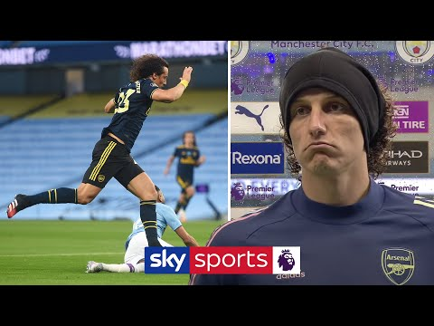 """""""It was my fault!""""   David Luiz apologises for performance against Man City and discusses contract"""