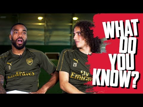 NAME MOST CAPPED FRENCH PLAYERS | Alexandre Lacazette v Matteo Guendouzi | What Do You Know?