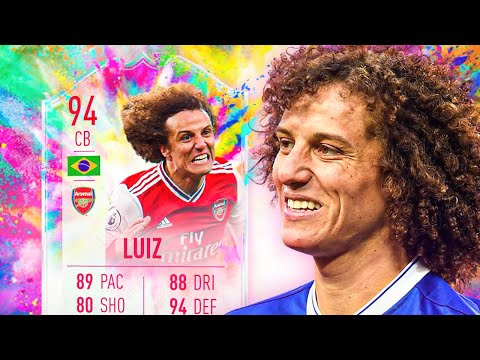 SIDESHOW BOB IS BACK! ? 94 SUMMER HEAT DAVID LUIZ PLAYER REVIEW! – FIFA 20 Ultimate Team