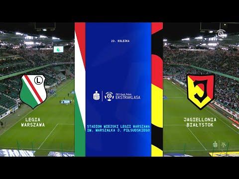 SKRÓT: Legia Warszawa – Jagiellonia Białystok   Ekstraklasa 23. Kolejka   2019/20