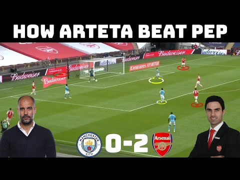 Tactical Analysis: Arsenal 2-0 Manchester City | How The Student Beat The Master | FA CUP |